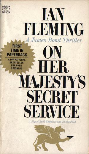 Fleming, Ian - On Her Majesty's Secret Service